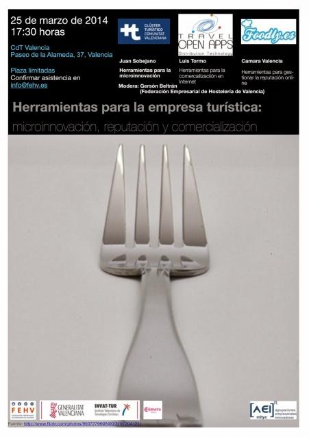 Jornada Herramientas para la empresa turística restaurantes