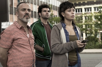 Javier Gutiérrez, Pep Ambrós y Anna Castillo