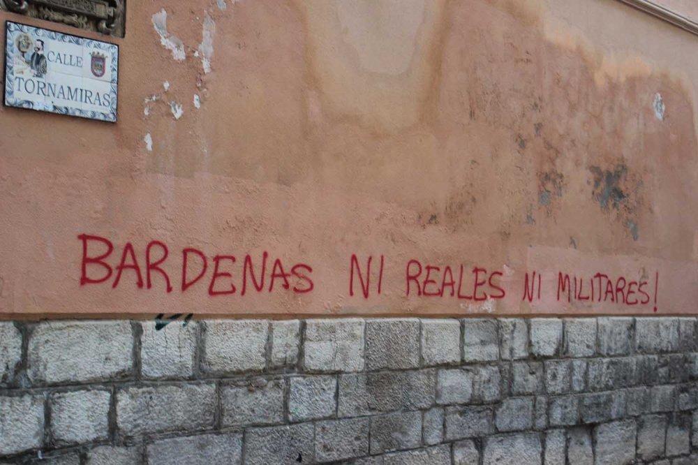Bardenas Reales - pintada Tudela