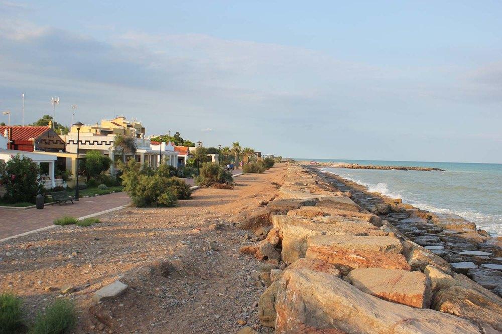 Sendero Azul Playa de Almenara ruta