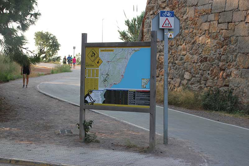 Inicio ruta en Benicàssim