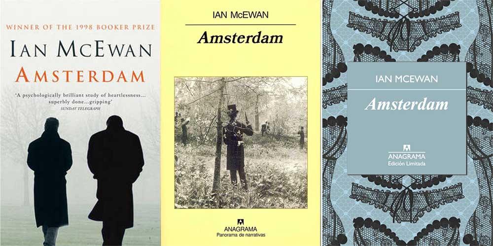 Diferentes portadas de Amsterdam
